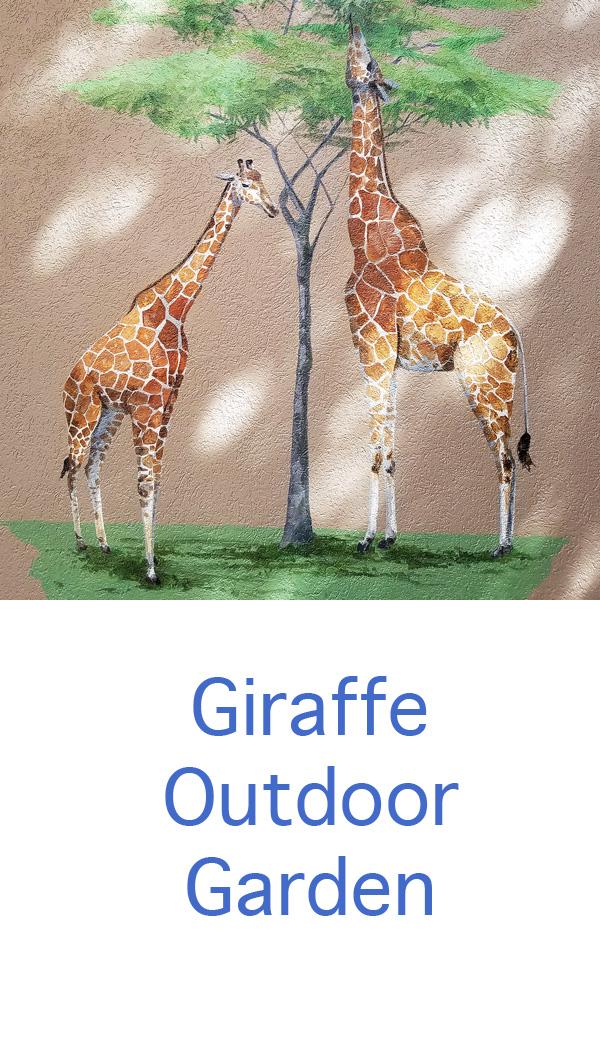 girafffe outdoor garden