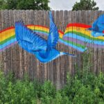 Mural on Fence