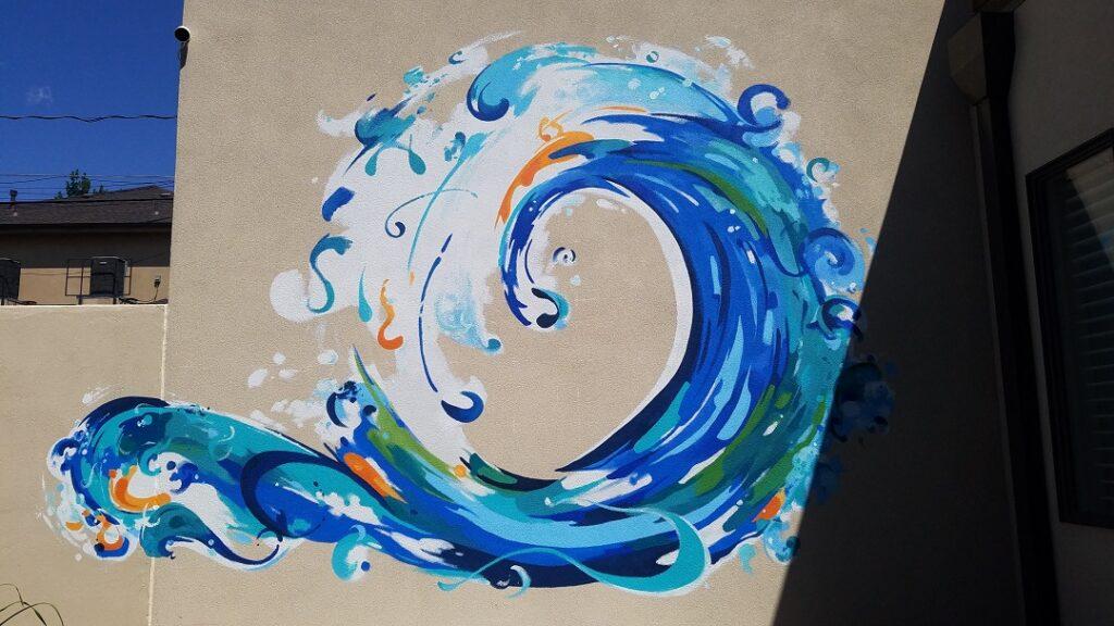 Enso Circle - Ocean Theme